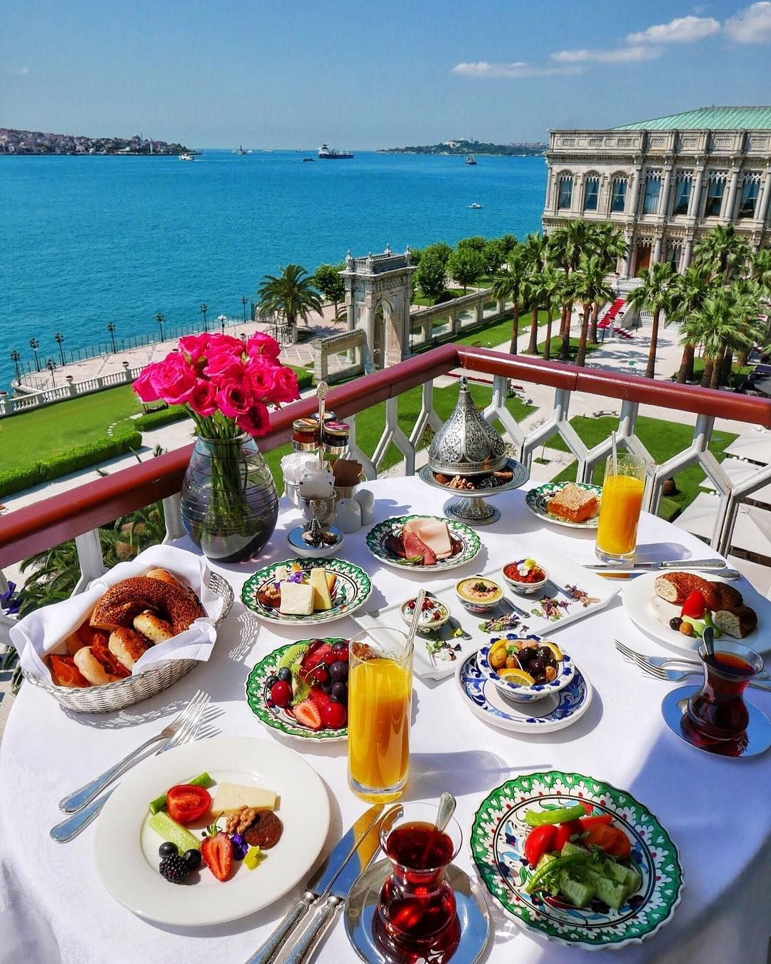 ciragan palace kempinski bosphorus view