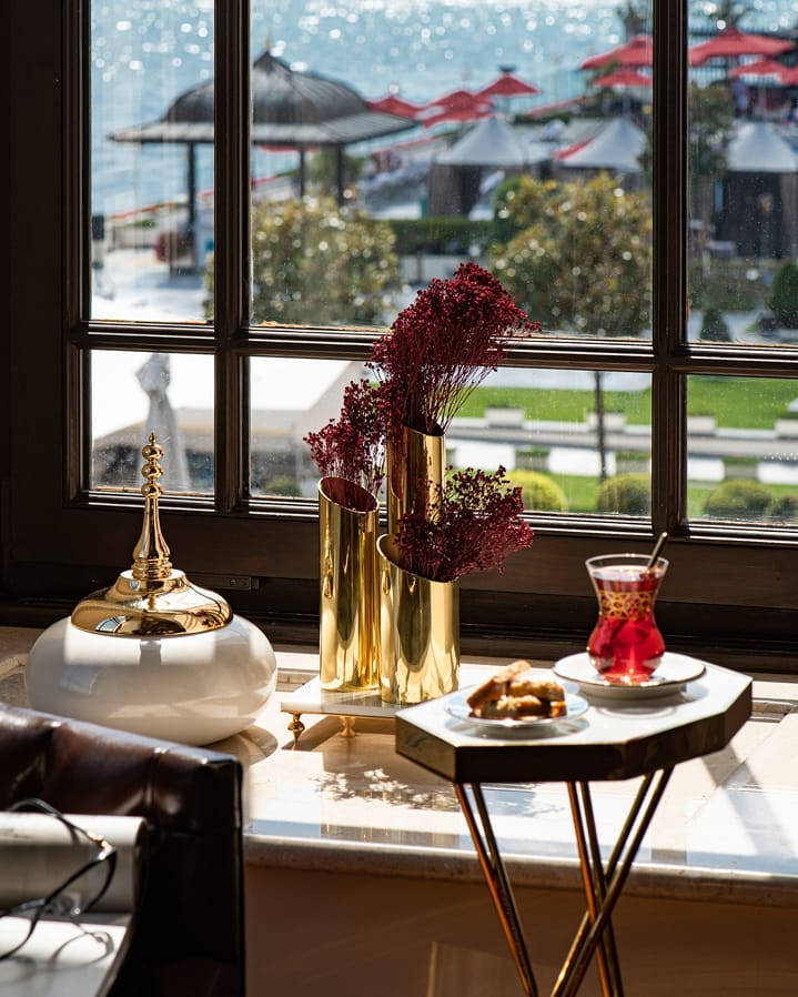 Four Seasons Hotel Bosphorus, Istanbul breakfast 2