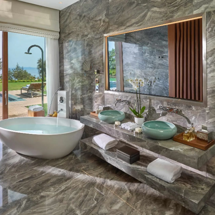 Blue Beach Villa Four Bedroom Mandarin Oriental Bodrum