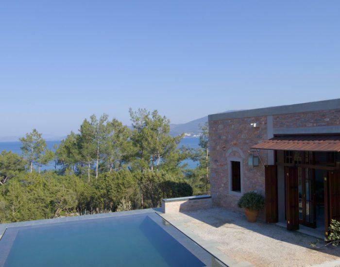 Pool Pavilion Deluxe Sea View Amanruya Bodrum